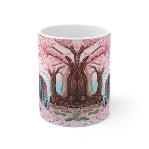 Load image into Gallery viewer, Cherry Blossom Breezes 11oz Mug