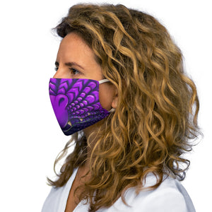 Load image into Gallery viewer, Purple Dragon Snout Snug-Fit Polyester Face Mask