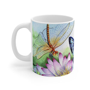 Load image into Gallery viewer, Jewels Upon the Water 11 oz Mug (Full Wrap)