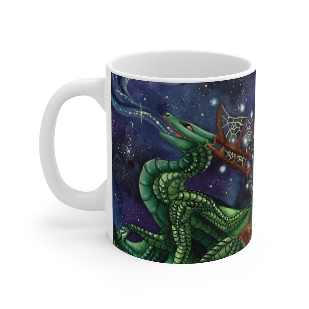 Load image into Gallery viewer, Universal Dragon Guides: Speak your Dreams Dragon 11oz Mug