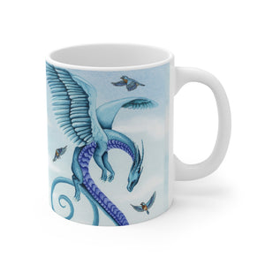 Load image into Gallery viewer, Dragon Oracle: Air Dragon 11oz Mug