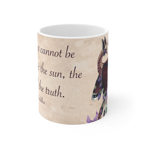 Load image into Gallery viewer, Enchanted Blossoms: Truth 11oz Mug
