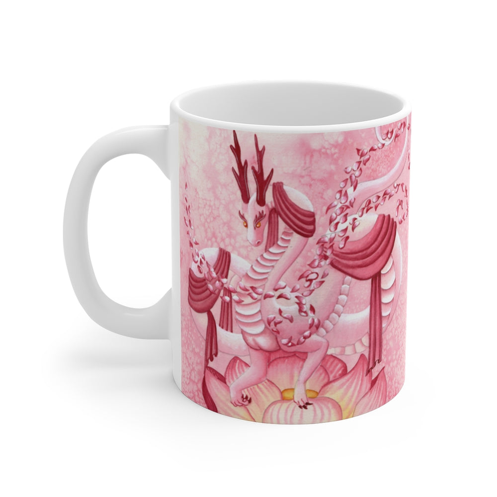Dragon Oracle: Quan Yin Dragon 11oz Mug
