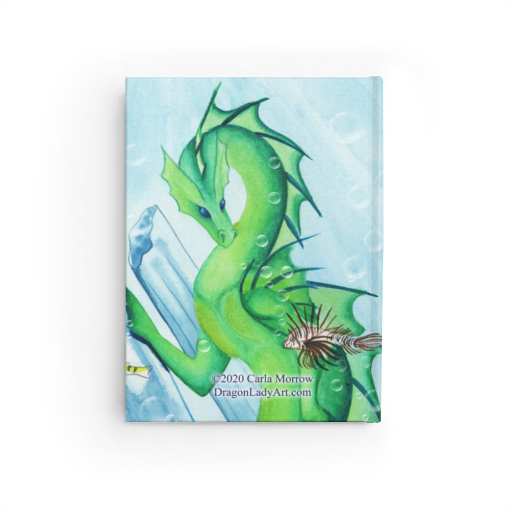 Load image into Gallery viewer, Dragon Oracle: Water Dragon Rule Lined Journal