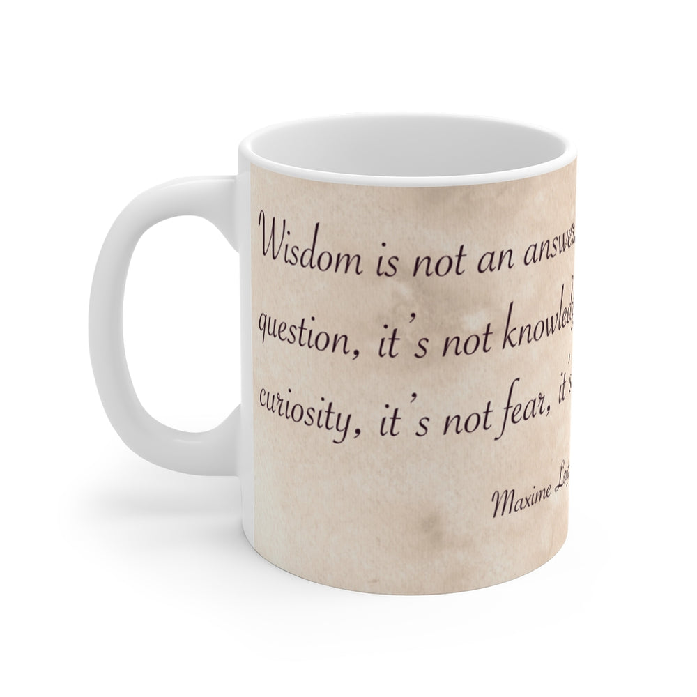 Load image into Gallery viewer, Enchanted Blossoms: Wisdom 11oz Mug