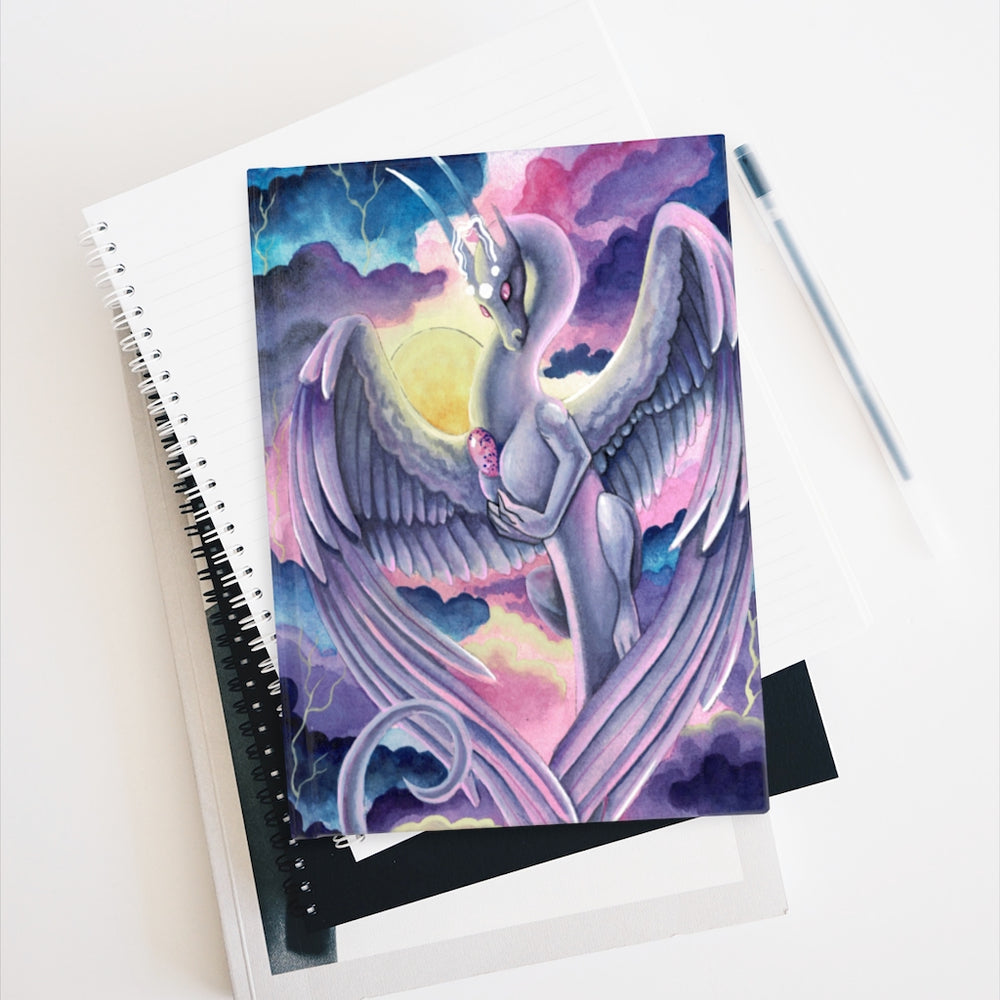 Load image into Gallery viewer, Universal Dragon Guide: Love Rule Lined Journal