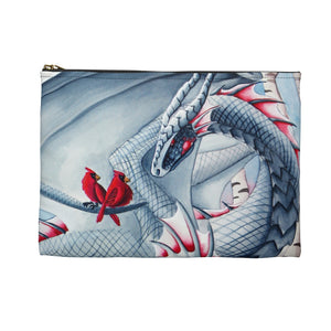 Load image into Gallery viewer, Lady of the Forest Dragon Accessory Pouch