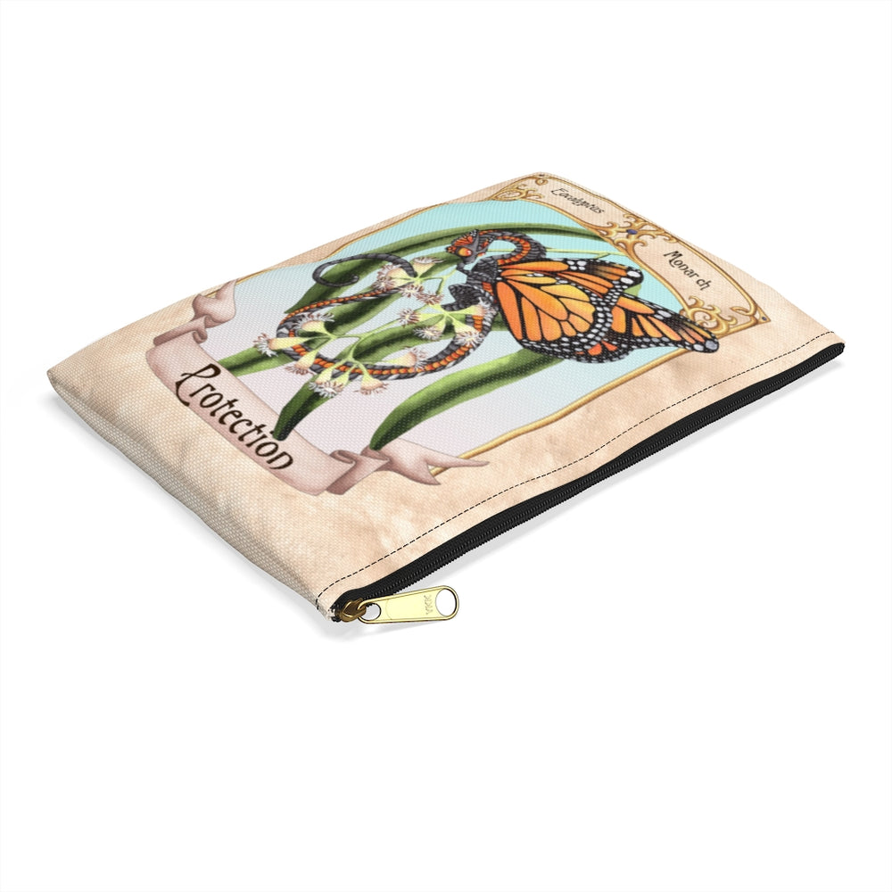 Load image into Gallery viewer, Enchanted Blossoms: Protection Dragon Accessory Pouch