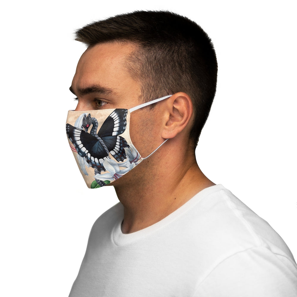 Load image into Gallery viewer, Enchanted Blossoms: Generosity Snug-Fit Polyester Face Mask