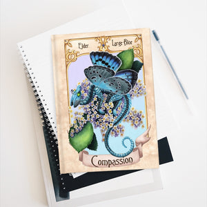 Load image into Gallery viewer, Enchanted Blossoms: Compassion Unlined Journal