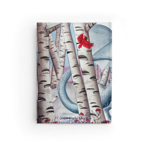 Load image into Gallery viewer, Lady of the Forest Rule Lined Journal