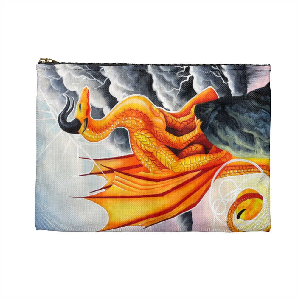Load image into Gallery viewer, Universal Dragon Guides: Courage Dragon Accessory Pouch