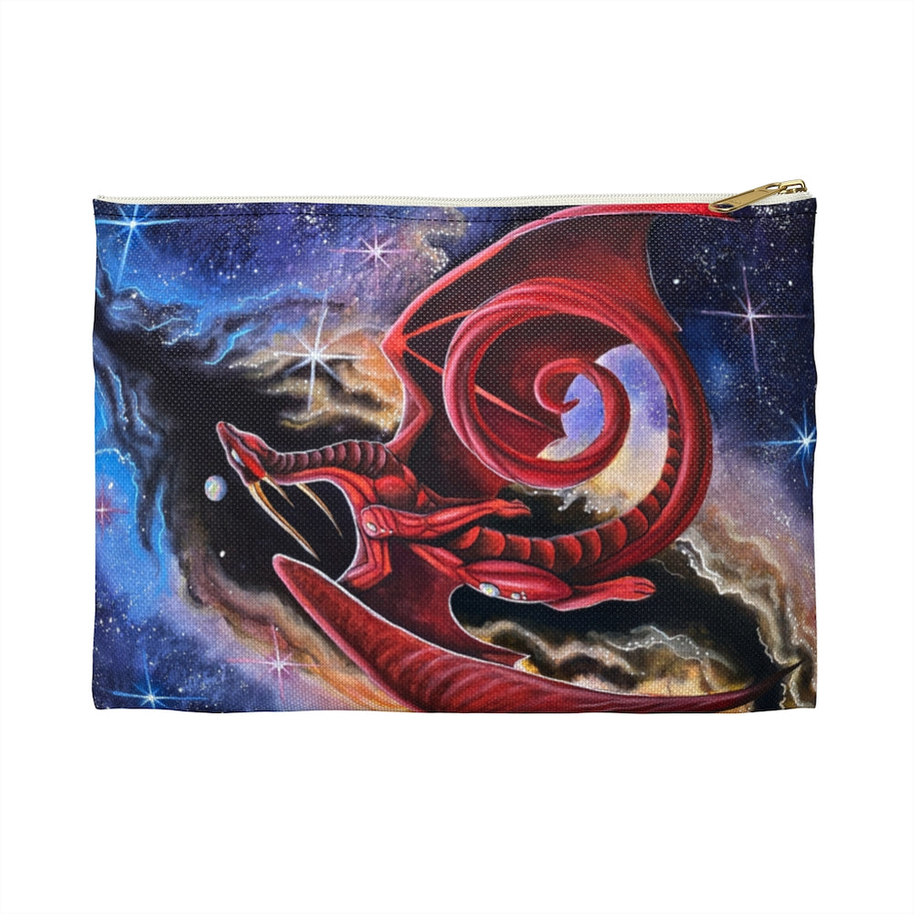 Watcher at the Divine Gateway Dragon Accessory Pouch