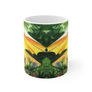 Load image into Gallery viewer, Dragon Oracle: Sunshine Yellow Dragon 11oz Mug