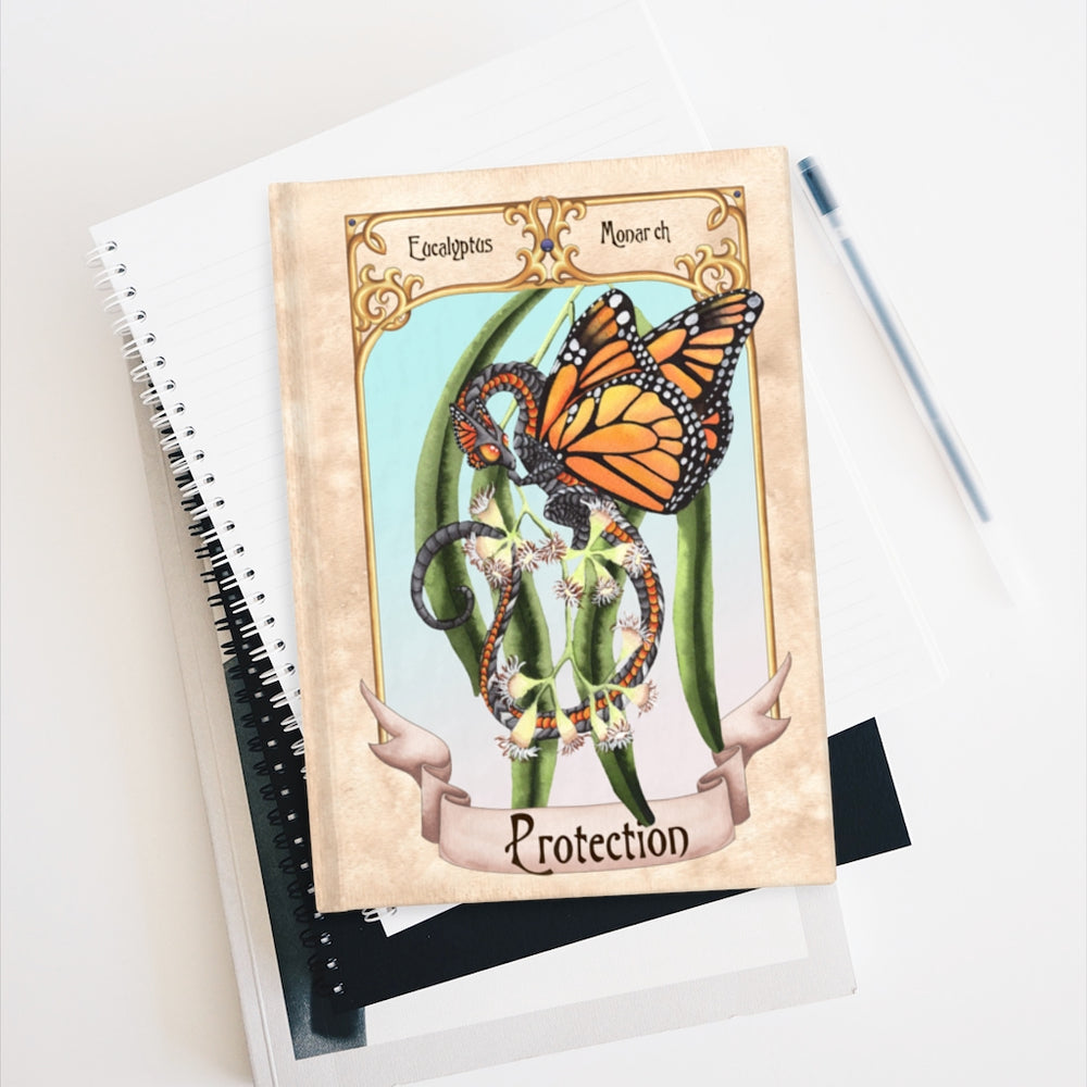 Load image into Gallery viewer, Enchanted Blossoms: Protection Rule Lined Journal
