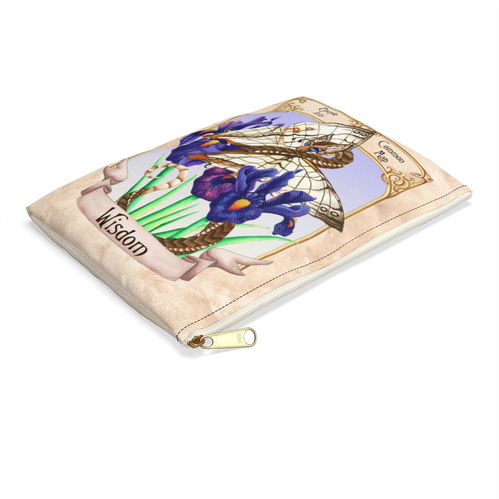 Load image into Gallery viewer, Enchanted Blossoms: Wisdom Dragon Accessory Pouch