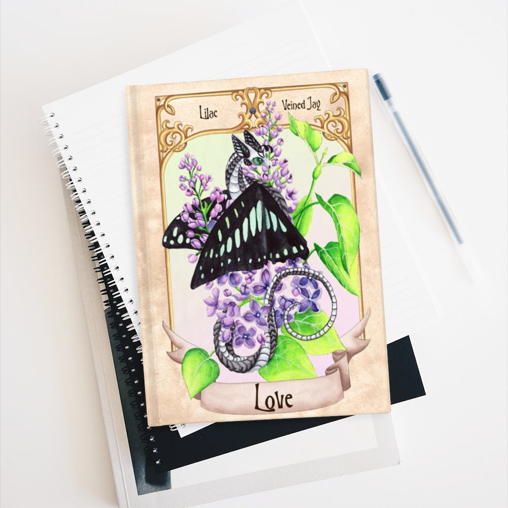 Load image into Gallery viewer, Enchanted Blossoms: Love Rule Lined Journal