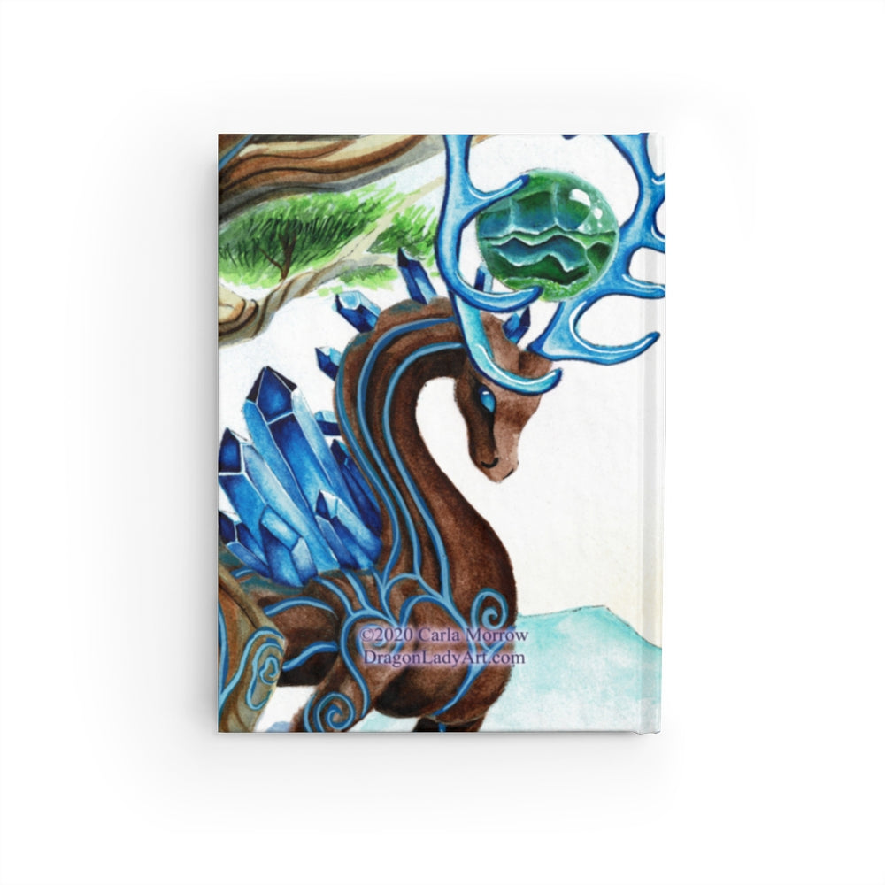 Load image into Gallery viewer, Universal Dragon Guide: Grounded Rule Lined Journal