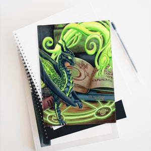 Load image into Gallery viewer, Summoning Dragons Rule Lined Journal