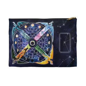 Load image into Gallery viewer, Pendulum Wheel Dragon Accessory Pouch