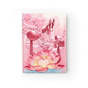 Load image into Gallery viewer, Dragon Oracle: Quan Yin Dragon Unlined Journal