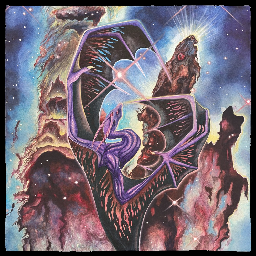 Pillars of Creation Tarot Wrap/Altar Cloth