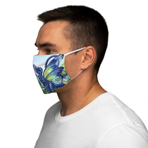 Load image into Gallery viewer, Jewels upon the Water Snug-Fit Polyester Face Mask