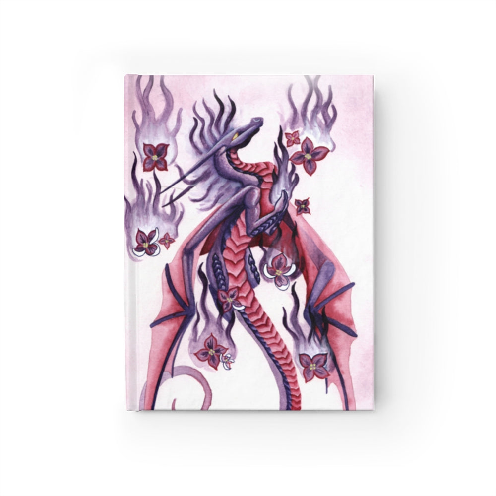 Dragon Oracle: Lilac Fire Dragon Unlined Journal