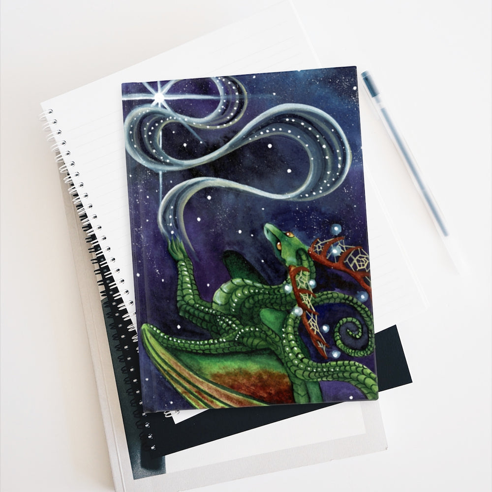 Load image into Gallery viewer, Universal Dragon Guide: Find Your Purpose Rule Lined Journal