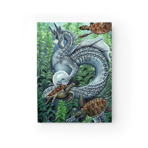 Load image into Gallery viewer, Universal Dragon Guide: Paitence Rule Lined Journal