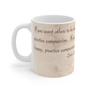 Load image into Gallery viewer, Enchanted Blossoms: Compassion 11oz Mug