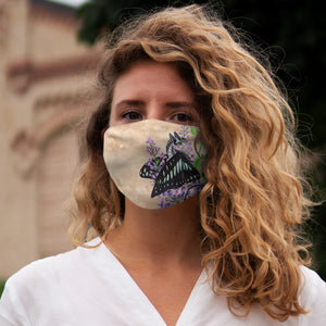 Load image into Gallery viewer, Enchanted Blossoms: Love Snug-Fit Polyester Face Mask