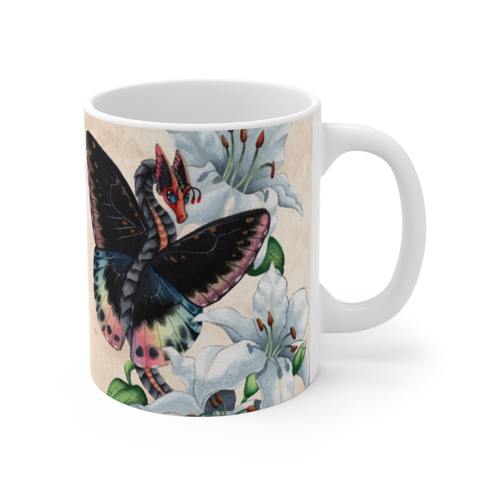 Load image into Gallery viewer, Enchanted Blossoms: Elegance 11oz Mug