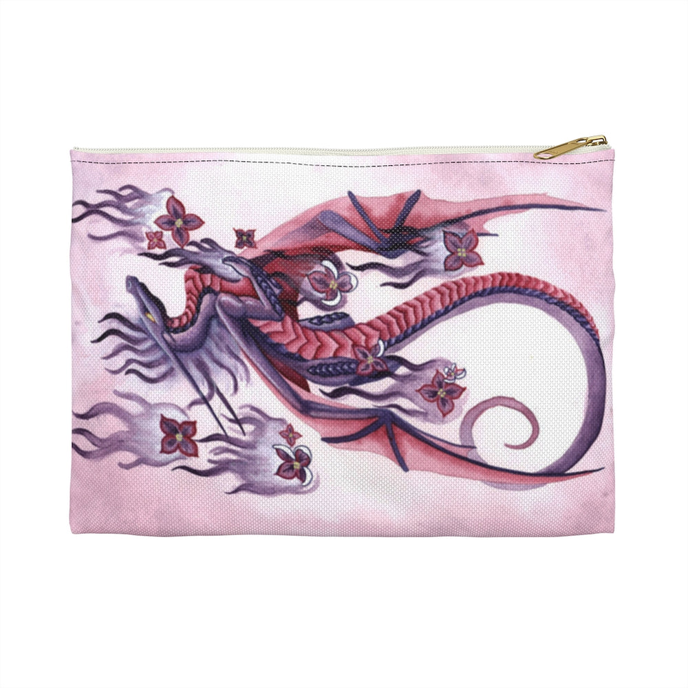 Dragon Oracle Lilac Fire Dragon Accessory Pouch