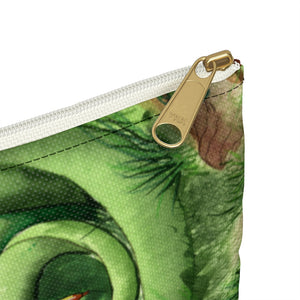 Load image into Gallery viewer, Dragon Oracle Green Dragon Accessory Pouch