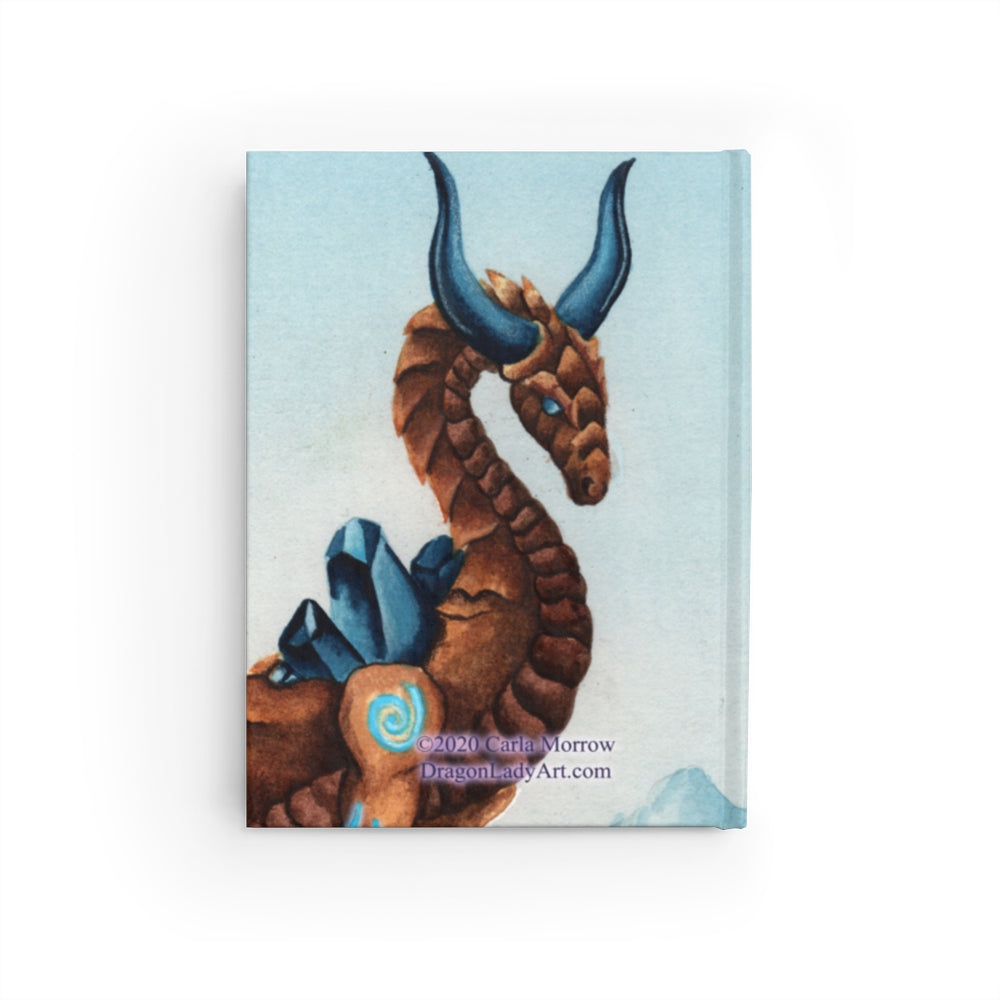 Load image into Gallery viewer, Dragon Oracle: Earth Dragon Unlined Journal