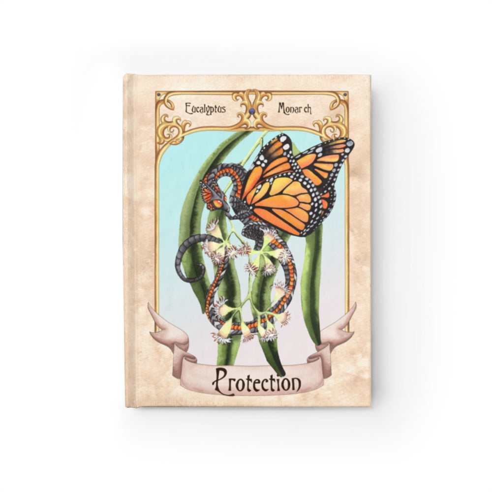 Enchanted Blossoms: Protection Rule Lined Journal