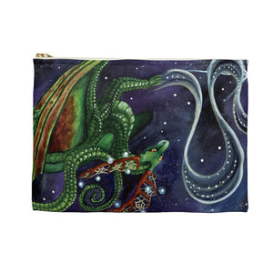 Load image into Gallery viewer, Universal Dragon Guides: Find Your Purpose Dragon Accessory Pouch