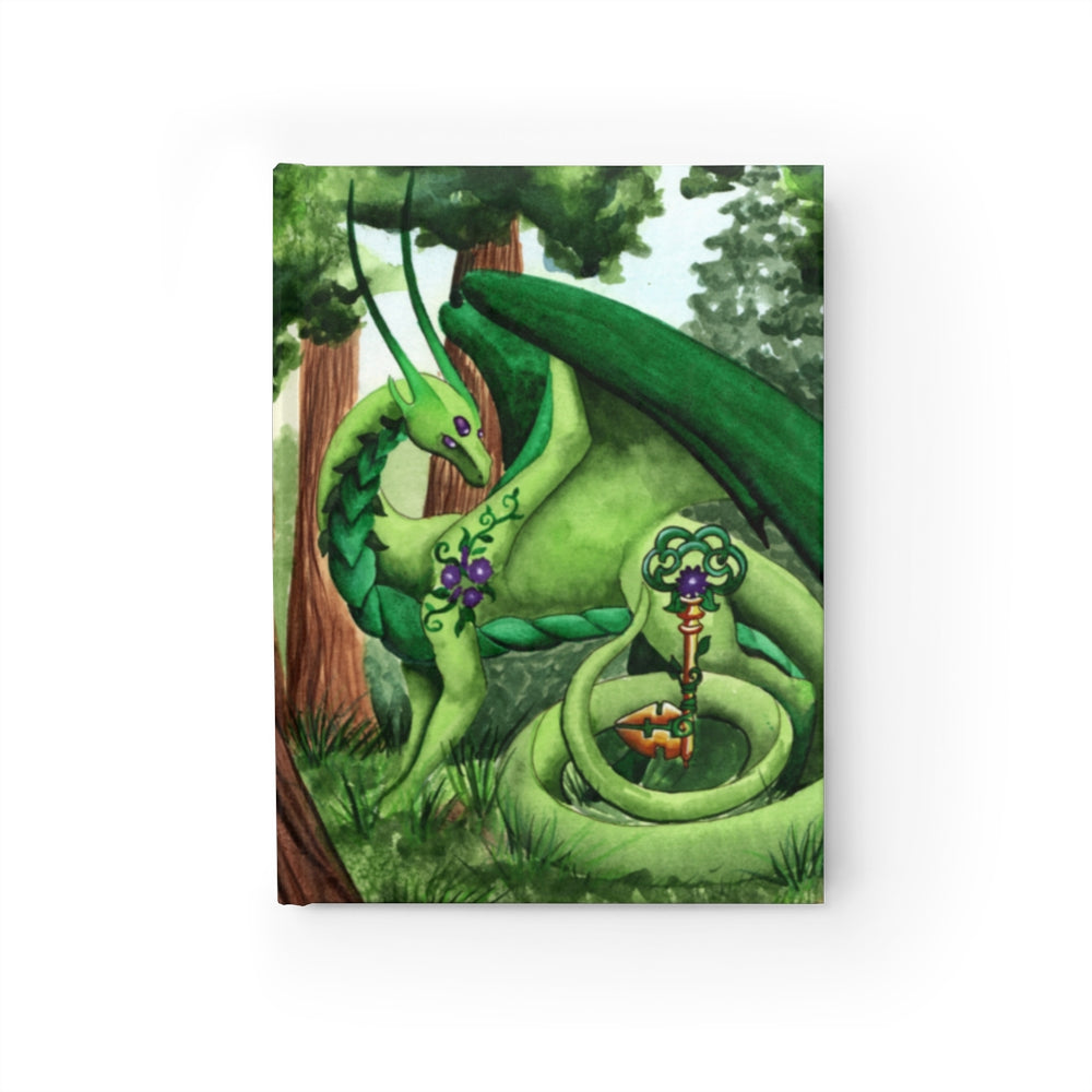 Dragon Oracle: Green Dragon Unlined Journal
