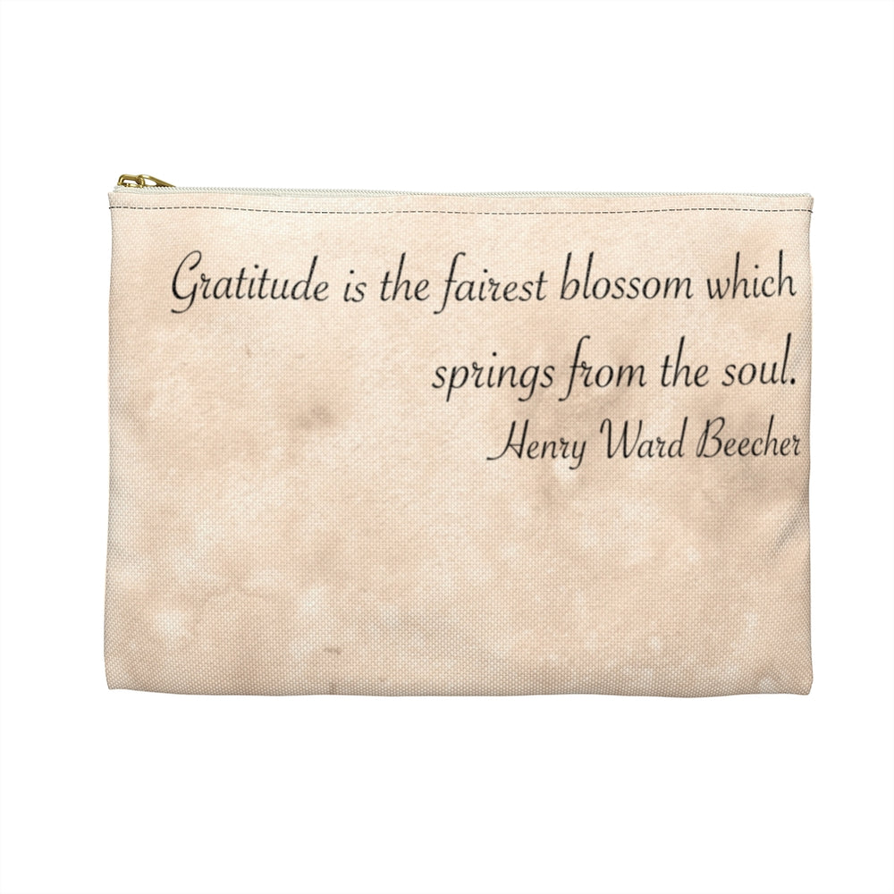Load image into Gallery viewer, Enchanted Blossoms: Gratitude Dragon Accessory Pouch