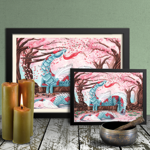 Load image into Gallery viewer, Cherry Blossom Breezes Giclée Prints
