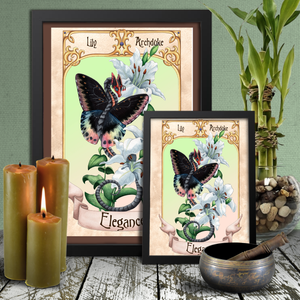 Load image into Gallery viewer, Enchanted Blossoms: Elegance Giclée Prints
