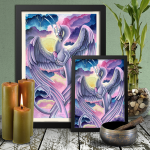 Load image into Gallery viewer, Universal Dragon Guide: Love Giclée Prints