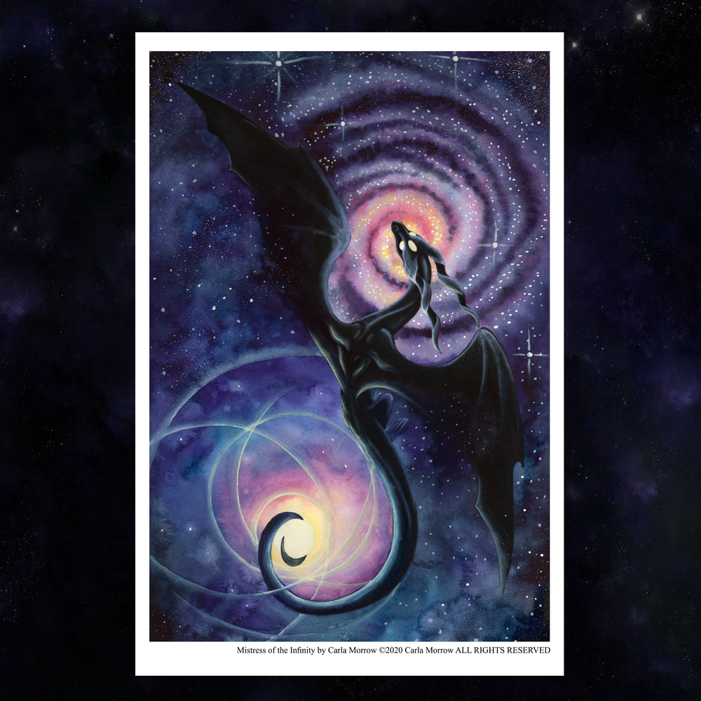 Load image into Gallery viewer, Mistress of Infinity Giclée Prints
