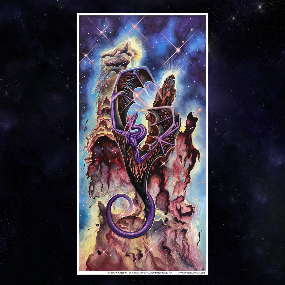 Pillars of Creation Giclée Prints