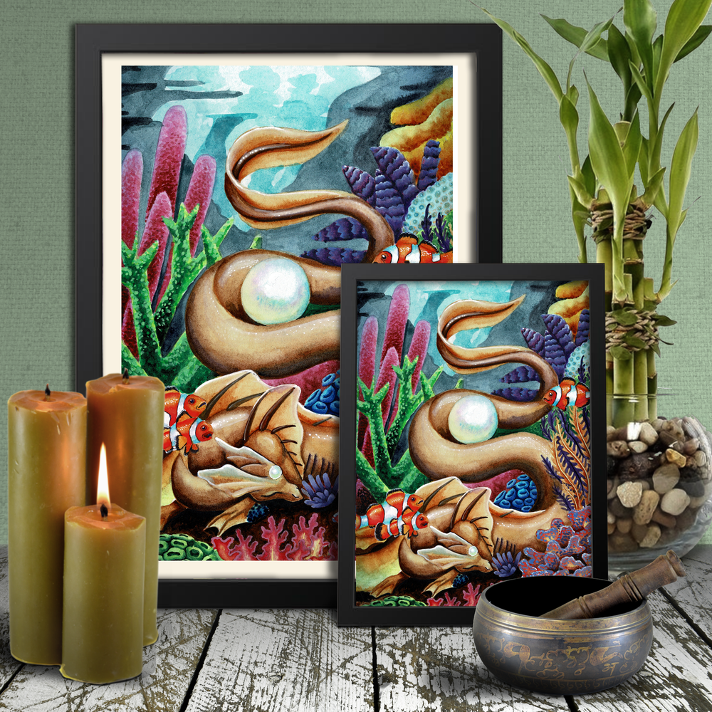 Load image into Gallery viewer, Universal Dragon Guide: Rest Giclée Prints