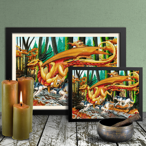 Load image into Gallery viewer, Running Free Giclée Prints