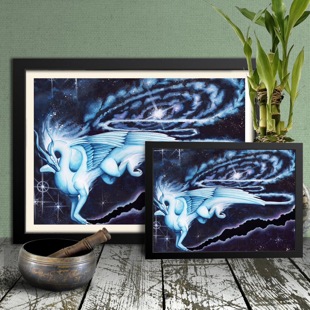 Load image into Gallery viewer, Soaring Through the Cosmos Giclée Prints