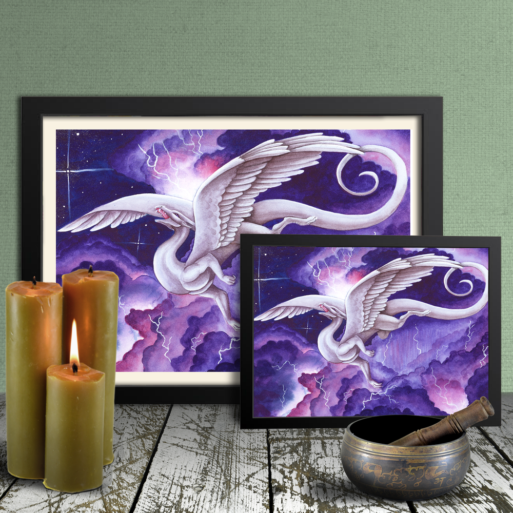 Load image into Gallery viewer, Storm Dancer Giclée Prints