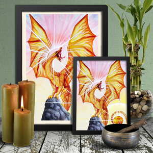 Load image into Gallery viewer, Universal Dragon Guide: Strength Giclée Prints